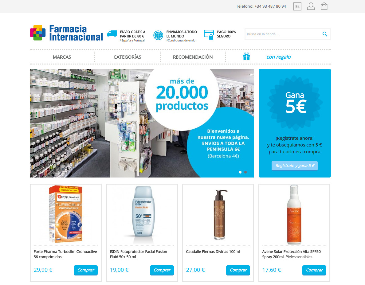 Botigues.cat: Farmacia-internacional