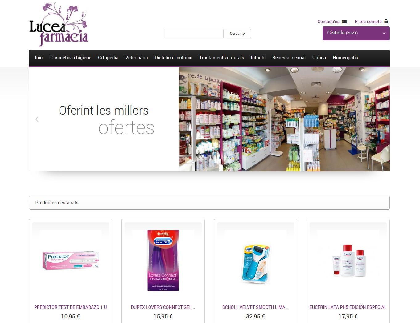 Botigues.cat: Farmàcia Lucea