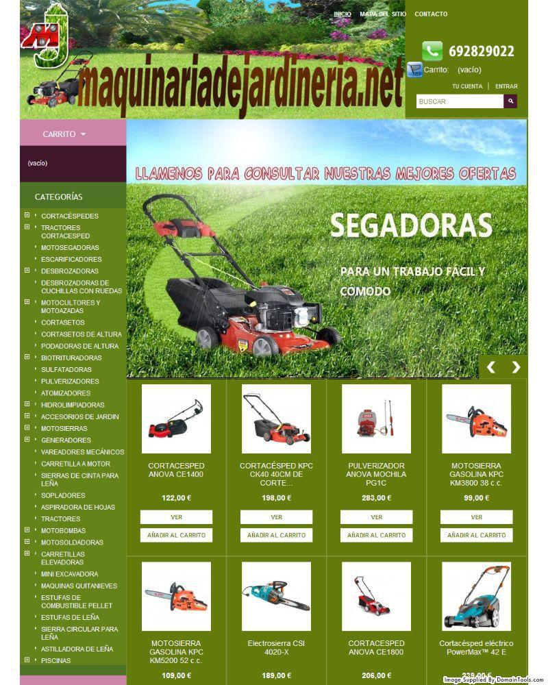 Botigues.cat: Maquinària de jardineria