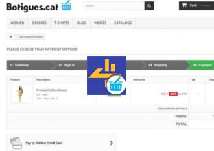 Botigues.cat: Mòdul de pagament TPV Pasat 4B