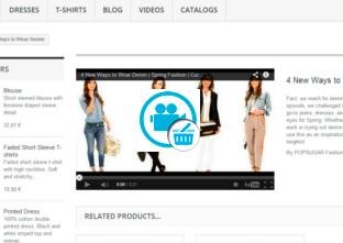 Botigues.cat: Mòdul de gestió de Vídeos